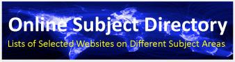 Online Subject Directory