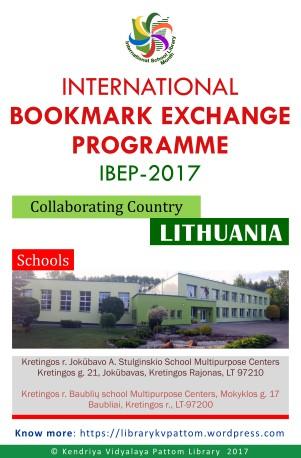 International Bookmark Exchange Programme