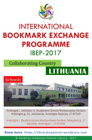 International Bookmark Exchange Programme